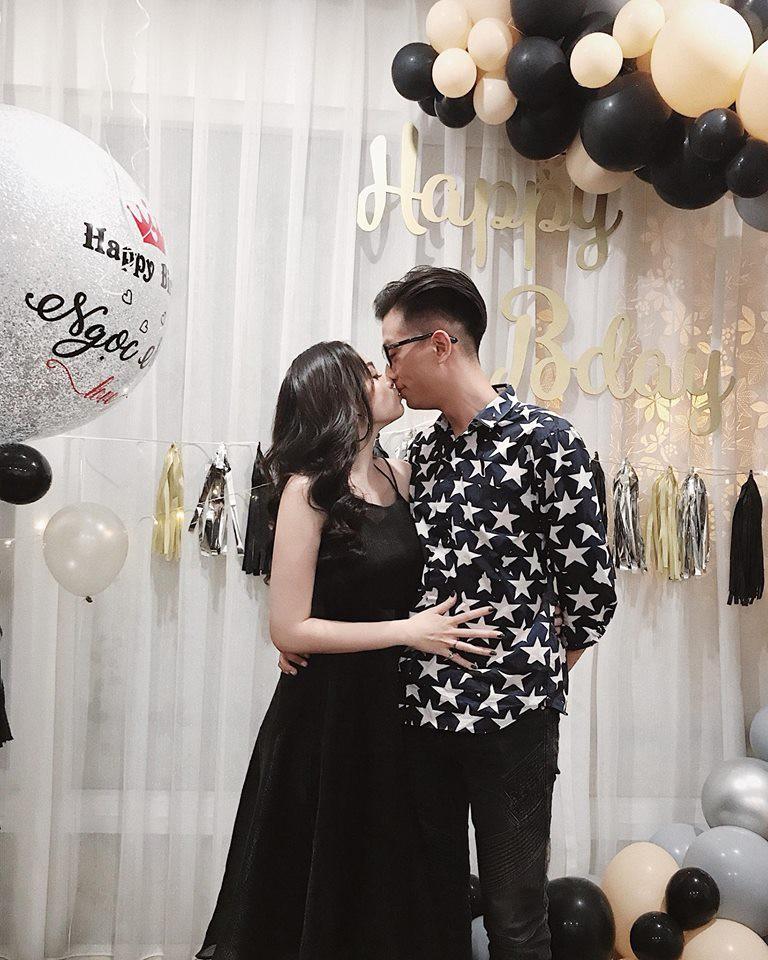 Ngọc Mon đón sinh nhật tuổi 30 bên ông xã: Yêu nhau bình yên, bình yên thôi - Ảnh 2.