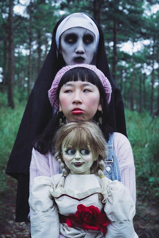Bộ ảnh: Trên con xe tay ga, cô gái đưa Valak và Annabelle đi trốn nơi xa - Ảnh 15.