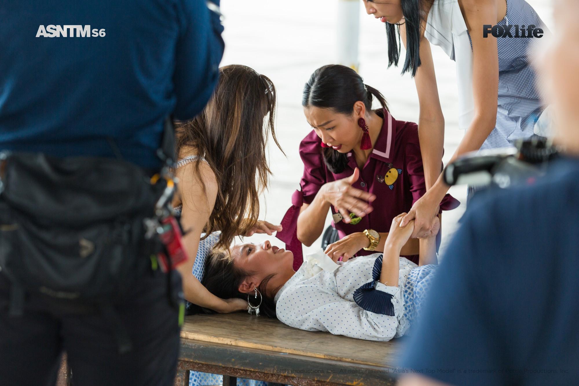 Khóc lóc, ngất xỉu, chơi nổi giữa thử thách, ai bảo Rima Thanh Vy nhạt nhòa tại Next Top châu Á? - Ảnh 6.