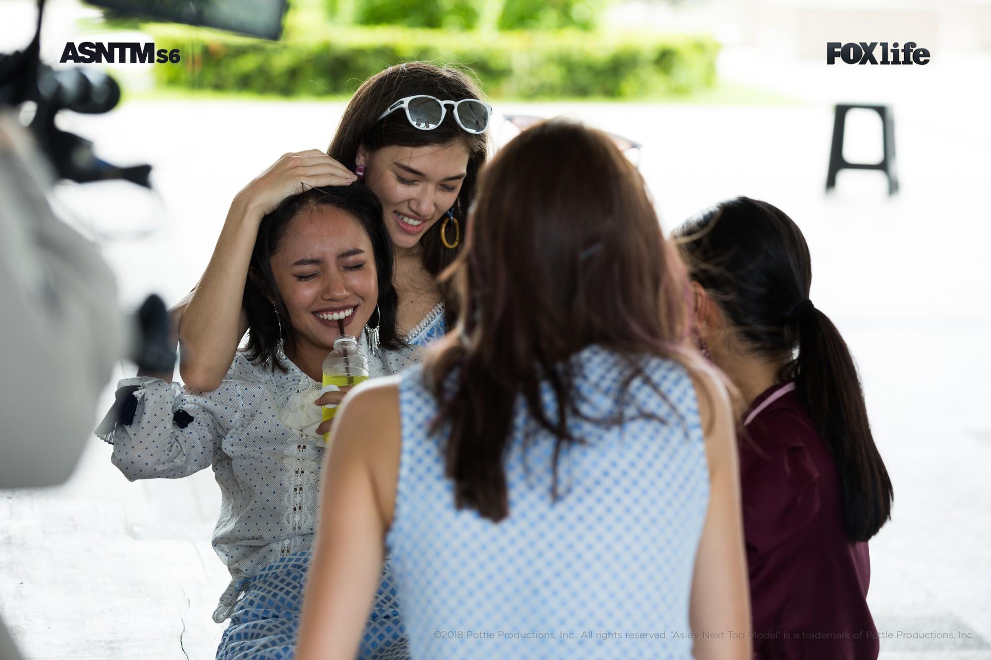 Khóc lóc, ngất xỉu, chơi nổi giữa thử thách, ai bảo Rima Thanh Vy nhạt nhòa tại Next Top châu Á? - Ảnh 7.