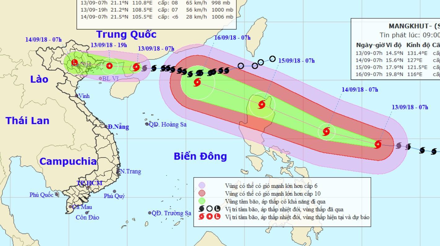 Siêu bão Mangkhut sắp vào biển Đông trong 2 ngày tới: Nó rất khác biệt và sẽ mang đến một mối nguy hiểm lớn - Ảnh 1.