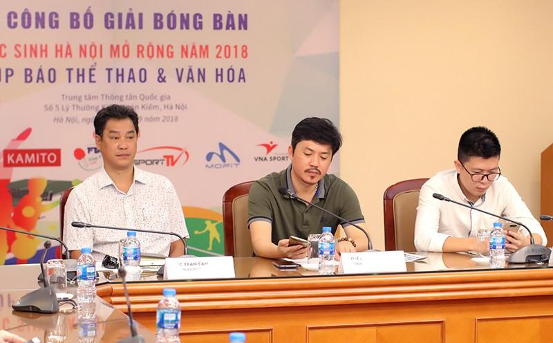 Giải bóng bàn học sinh Hà Nội mở rộng 2018 quy tụ những tay vợt xuất sắc nhất ở nội dung nâng cao - Ảnh 1.