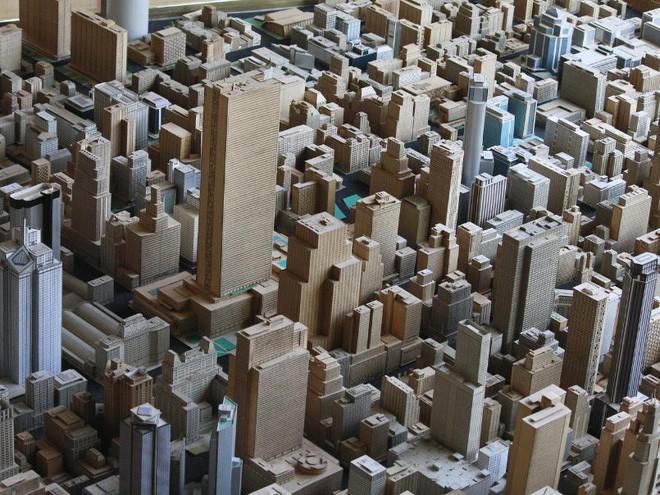 Choáng ngợp với mô hình thành phố mini siêu chi tiết được tạo nên bởi cụ ông 78 tuổi trong suốt hơn 65 năm - Ảnh 12.
