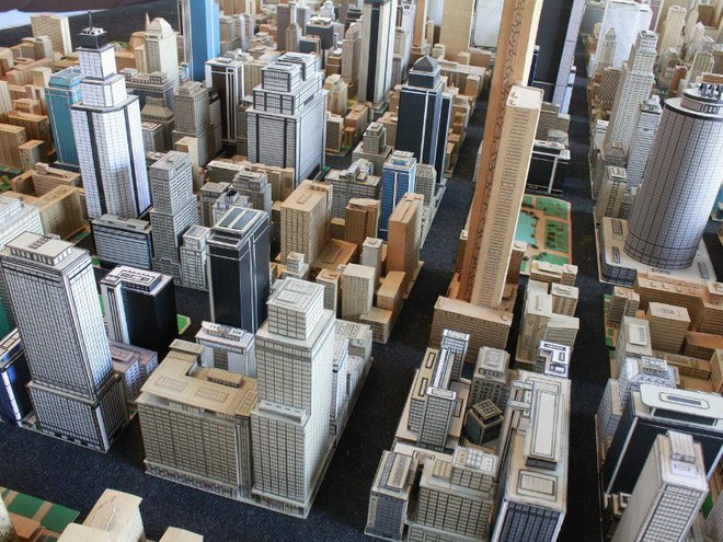 Choáng ngợp với mô hình thành phố mini siêu chi tiết được tạo nên bởi cụ ông 78 tuổi trong suốt hơn 65 năm - Ảnh 10.
