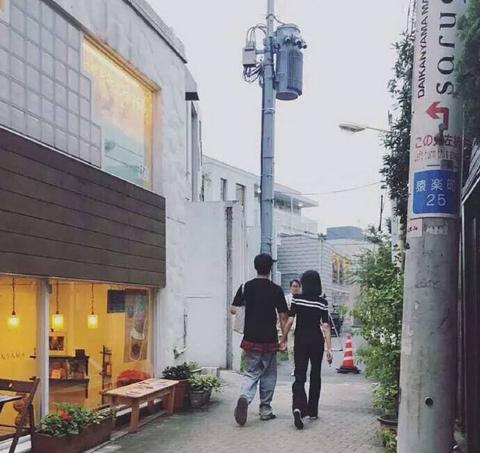 Bạn trai CEO hộ tống Trịnh Sảng sang Nhật quay phim, nắm chặt tay nhau không rời khi đi trên phố - Ảnh 1.