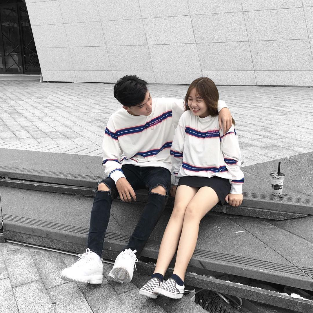 Couple Đà Nẵng sinh năm 1999 đũa lệch 28cm diện đồ siêu xinh, có câu chuyện tình yêu ngọt ngào - Ảnh 8.