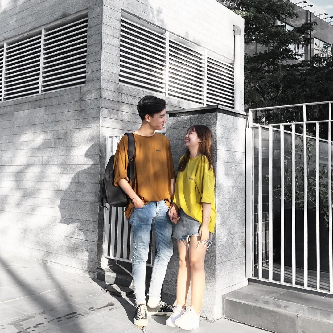 Couple Đà Nẵng sinh năm 1999 đũa lệch 28cm diện đồ siêu xinh, có câu chuyện tình yêu ngọt ngào - Ảnh 7.