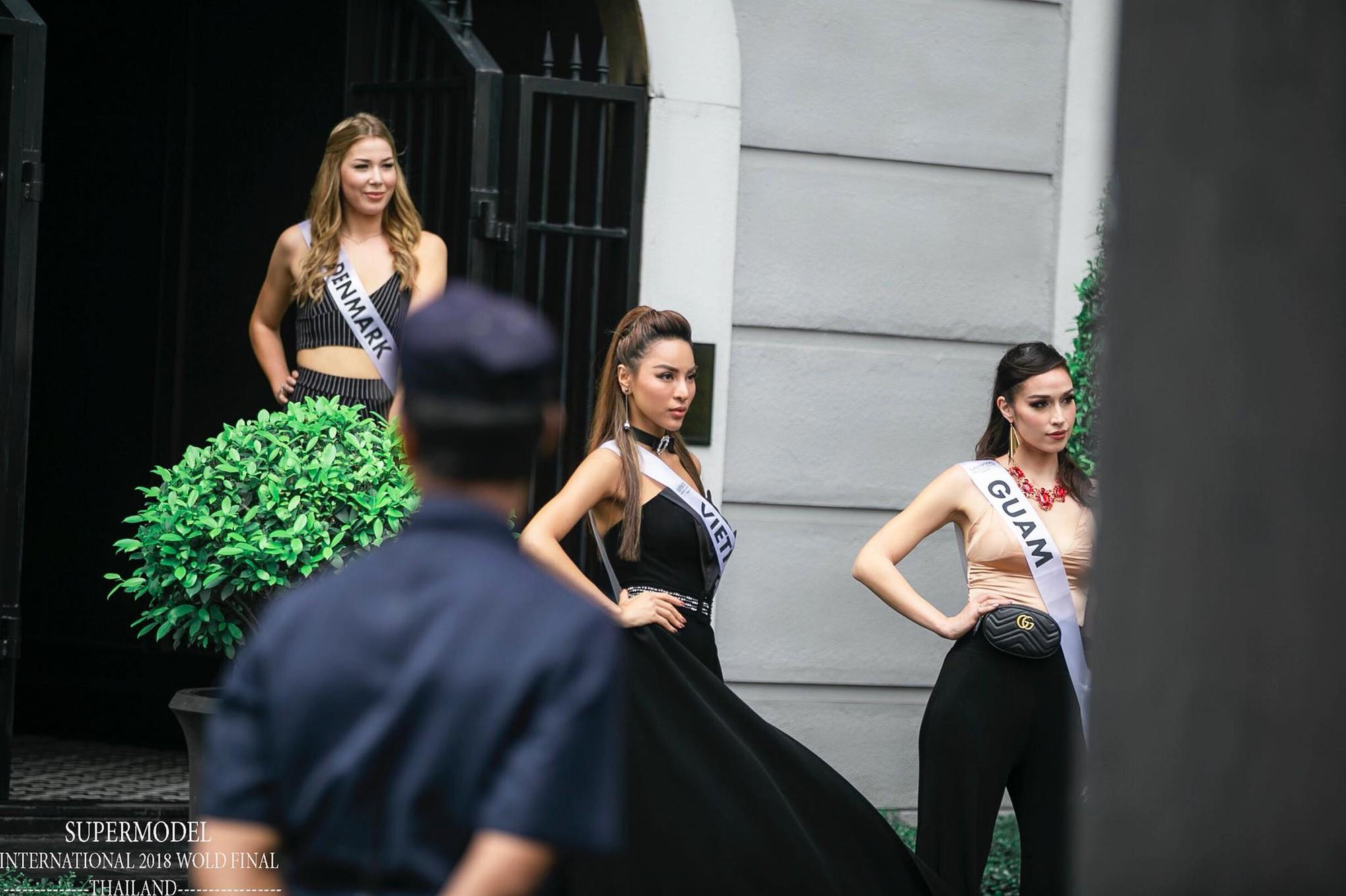 Đại diện Việt Nam - Khả Trang giành quán quân Siêu mẫu quốc tế 2018 - Ảnh 3.