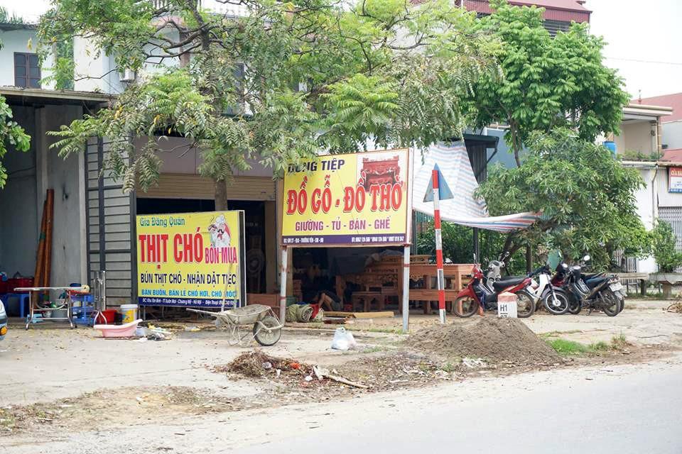 Nơi cả làng ăn thịt chó ngày Tết ở Hà Nội: Đã là tục lệ thì giỗ, Tết nhất định phải có thịt chó để ăn - Ảnh 2.