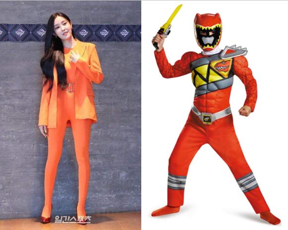 Hyomin và bộ trang phục trông như cosplay củ cà rốt khi xuất hiện tại M!Countdown - Ảnh 3.
