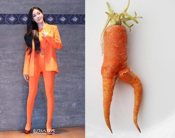 Hyomin và bộ trang phục trông như cosplay củ cà rốt khi xuất hiện tại M!Countdown - Ảnh 4.