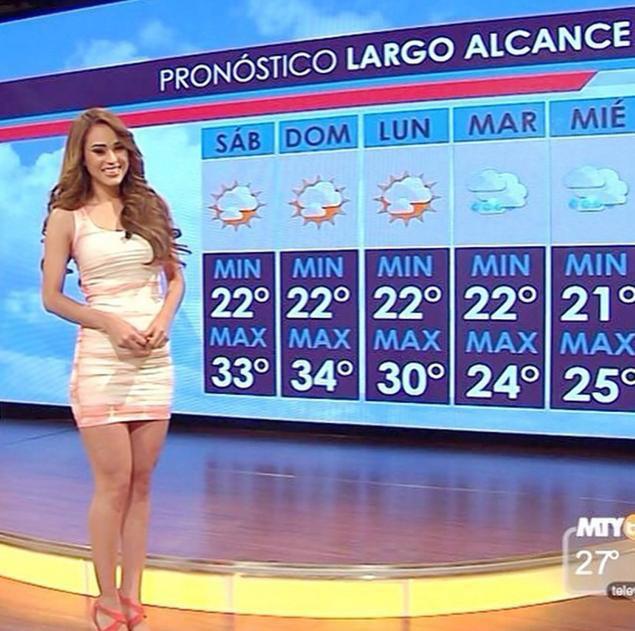 Có thể bạn chưa biết: Mỗi khi thời tiết chuyển biến xấu, dàn weather girl xinh đẹp sẽ được thay thế bởi các nhà khí tượng học - Ảnh 1.