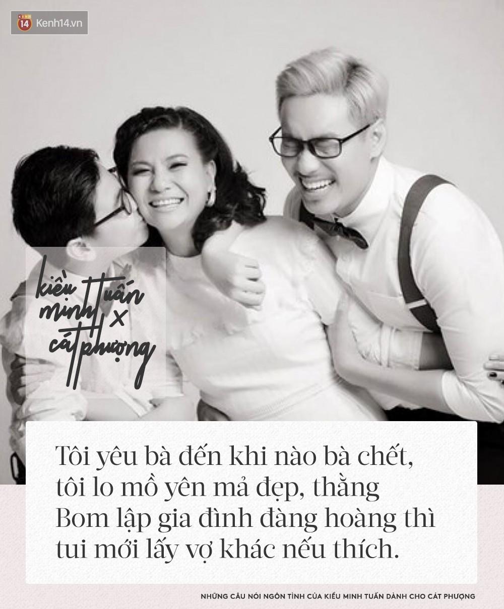 Kiều Minh Tuấn từng nói: Nếu Cát Phượng có mất, sẽ làm mồ yên mả đẹp, cưới vợ cho cu Bom rồi mới tính tới chuyện khác - Ảnh 2.