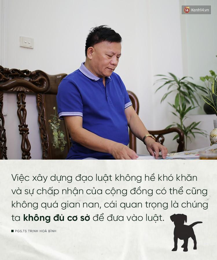 Nhà xã hội học, PGS.TS Trịnh Hoà Bình: Ăn thịt chó không phải là thước đo văn minh con người - Ảnh 5.