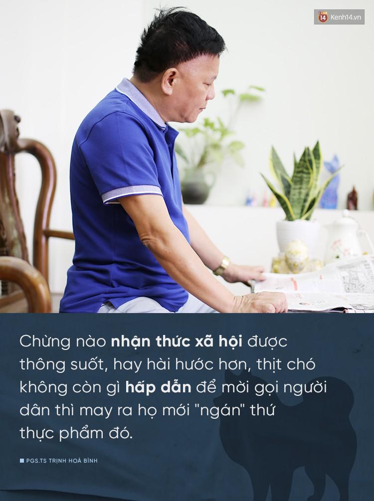 Nhà xã hội học, PGS.TS Trịnh Hoà Bình: Ăn thịt chó không phải là thước đo văn minh con người - Ảnh 6.