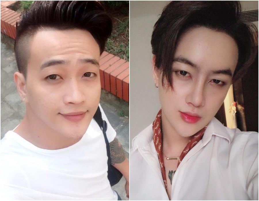 Sau màn lột xác phong cách ngoạn mục, cựu trưởng nhóm HKT vướng nghi vấn dao kéo vì vẻ ngoài khác lạ - Ảnh 3.