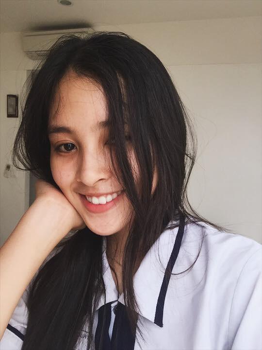 Tân hoa hậu Trần Tiểu Vy: Sinh viên học chương trình liên kết quốc tế của ĐH Sư phạm Kĩ thuật - Ảnh 2.