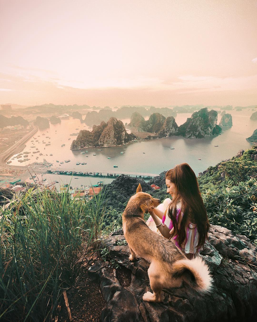 Thêm những bức ảnh đẹp mê mẩn của công chúa tóc mây Sarah Trần trong chuyến du hí Việt Nam - Ảnh 3.