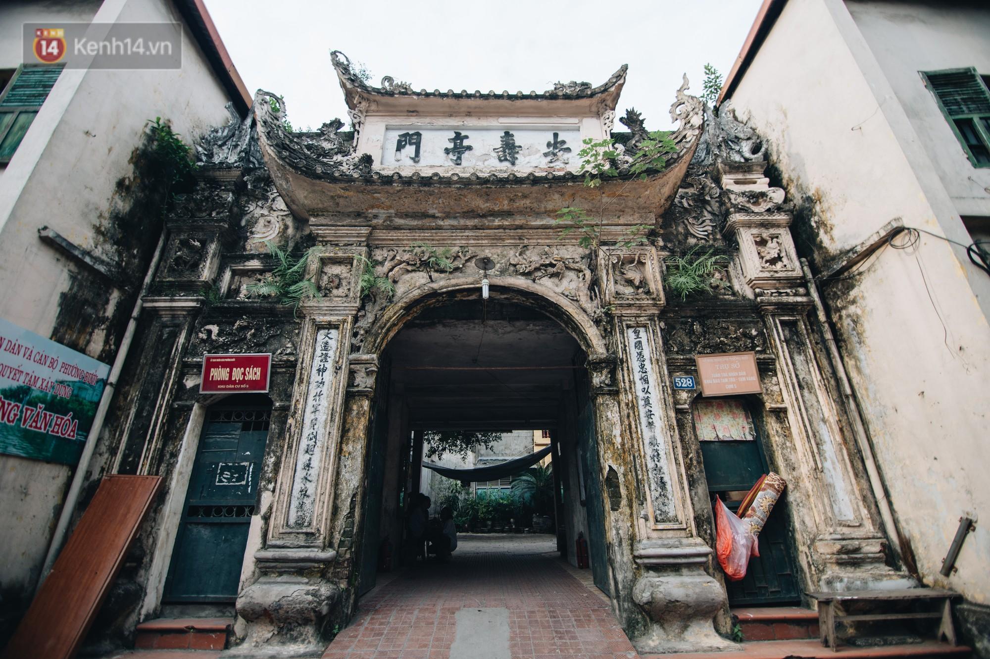 Chuyện về một con phố có nhiều cổng làng nhất Hà Nội: Đưa chân qua cổng phải tôn trọng nếp làng - Ảnh 3.