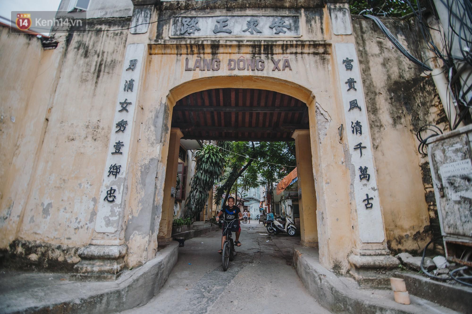 Chuyện về một con phố có nhiều cổng làng nhất Hà Nội: Đưa chân qua cổng phải tôn trọng nếp làng - Ảnh 8.