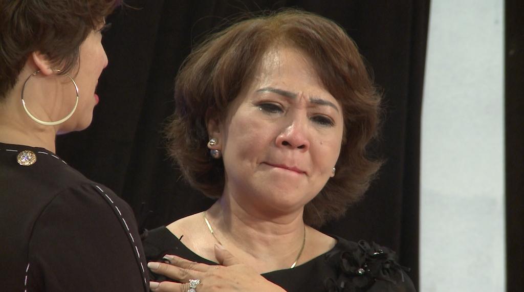 Học viện mẹ chồng: Lâm Khánh Chi bật khóc vì nhà chồng kỳ thị và chồng giấu giếm chuyện người yêu cũ - Ảnh 5.