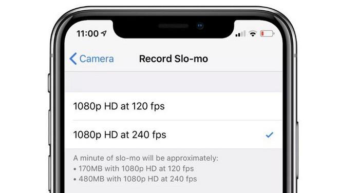 Giá bán tới cả ngàn đô nhưng iPhone XS chỉ có thể quay slow-motion 240fps HD như iPhone 6 cách đây 4 năm - Ảnh 1.