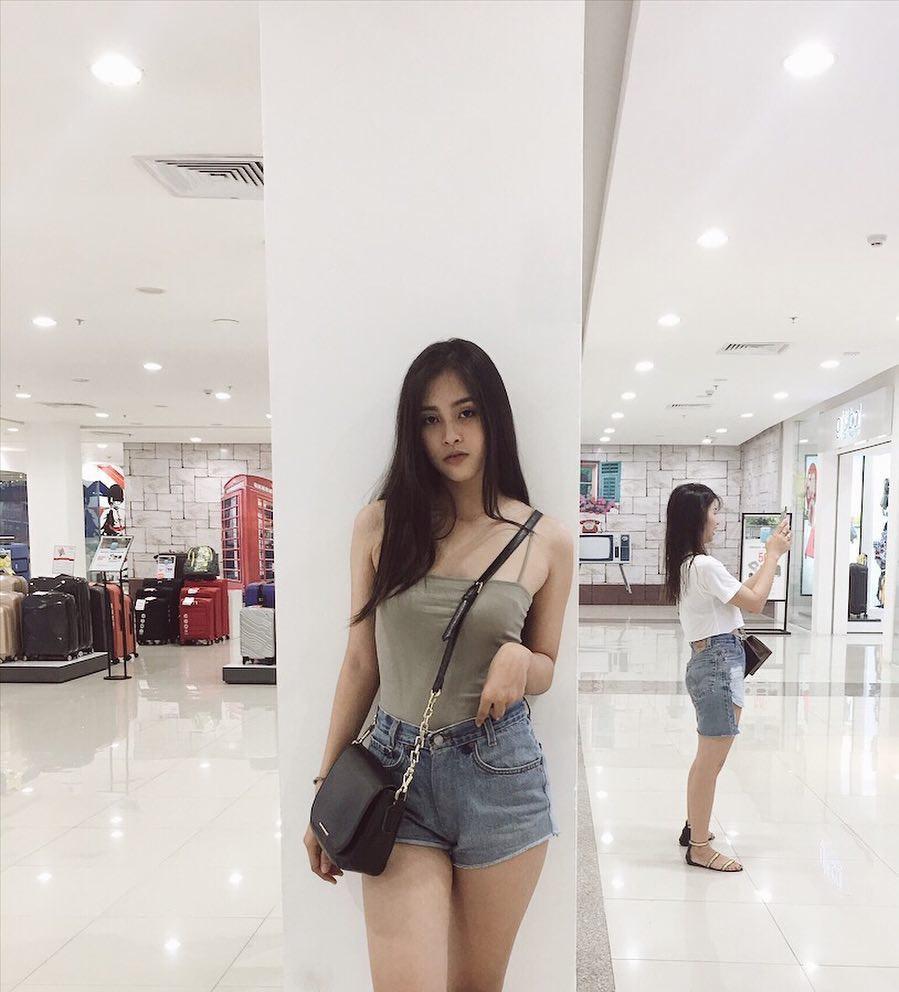 Vẻ đẹp đời thường vừa lai Tây, vừa gợi cảm hút hồn của Tân Hoa hậu Việt Nam 2018 - Trần Tiểu Vy - Ảnh 8.
