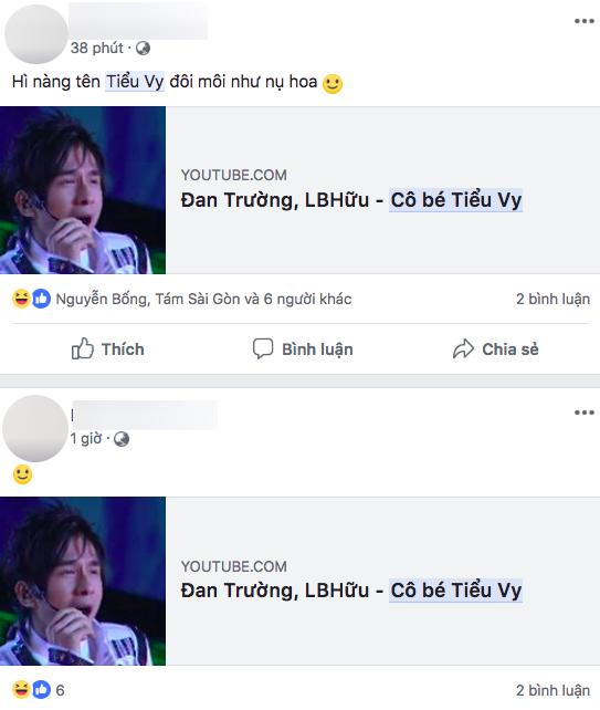 Dân mạng chia sẻ lại ca khúc này trên trang cá nhân khi tân Hoa hậu Việt Nam được xướng tên.