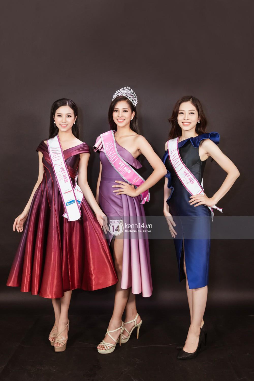 Ngắm cận vẻ đẹp của Top 3 Hoa hậu Việt Nam 2018: Mỹ nhân 2000 được khen sắc sảo, 2 nàng Á mười phân vẹn mười - Ảnh 3.