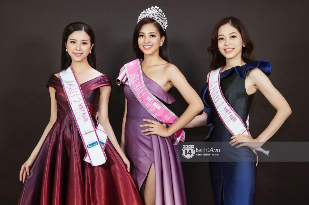 Ngắm cận vẻ đẹp của Top 3 Hoa hậu Việt Nam 2018: Mỹ nhân 2000 được khen sắc sảo, 2 nàng Á mười phân vẹn mười - Ảnh 4.
