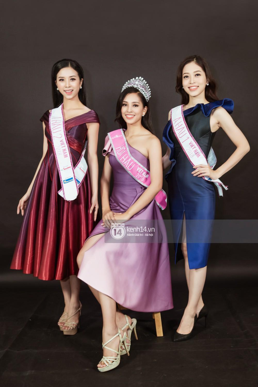 Ngắm cận vẻ đẹp của Top 3 Hoa hậu Việt Nam 2018: Mỹ nhân 2000 được khen sắc sảo, 2 nàng Á mười phân vẹn mười - Ảnh 14.