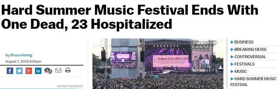 Những vụ tử vong do sốc thuốc tại nhạc hội gây chấn động trong năm nay - Ảnh 8.