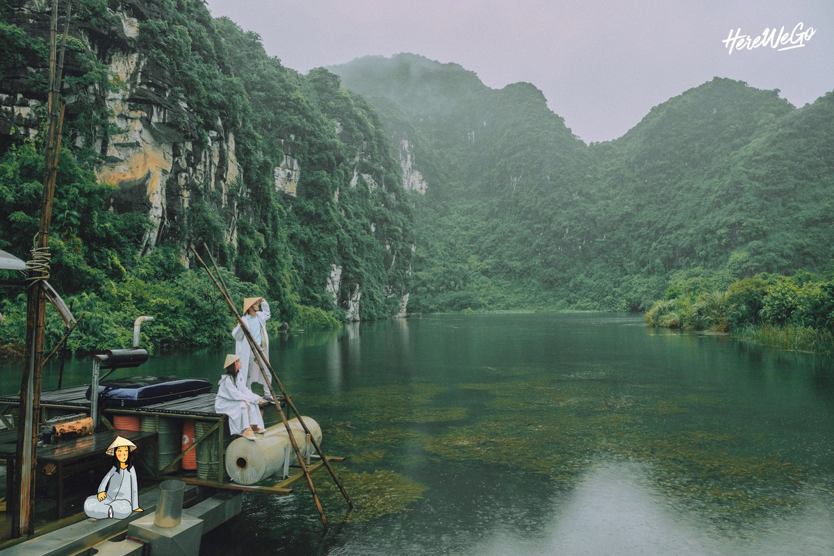 Bất ngờ trước những khung hình mùa thu Hà Nội - Ninh Bình đẹp và trong trẻo như thời thơ ấu của Jolie Nguyễn và các bạn đồng hành - Ảnh 21.