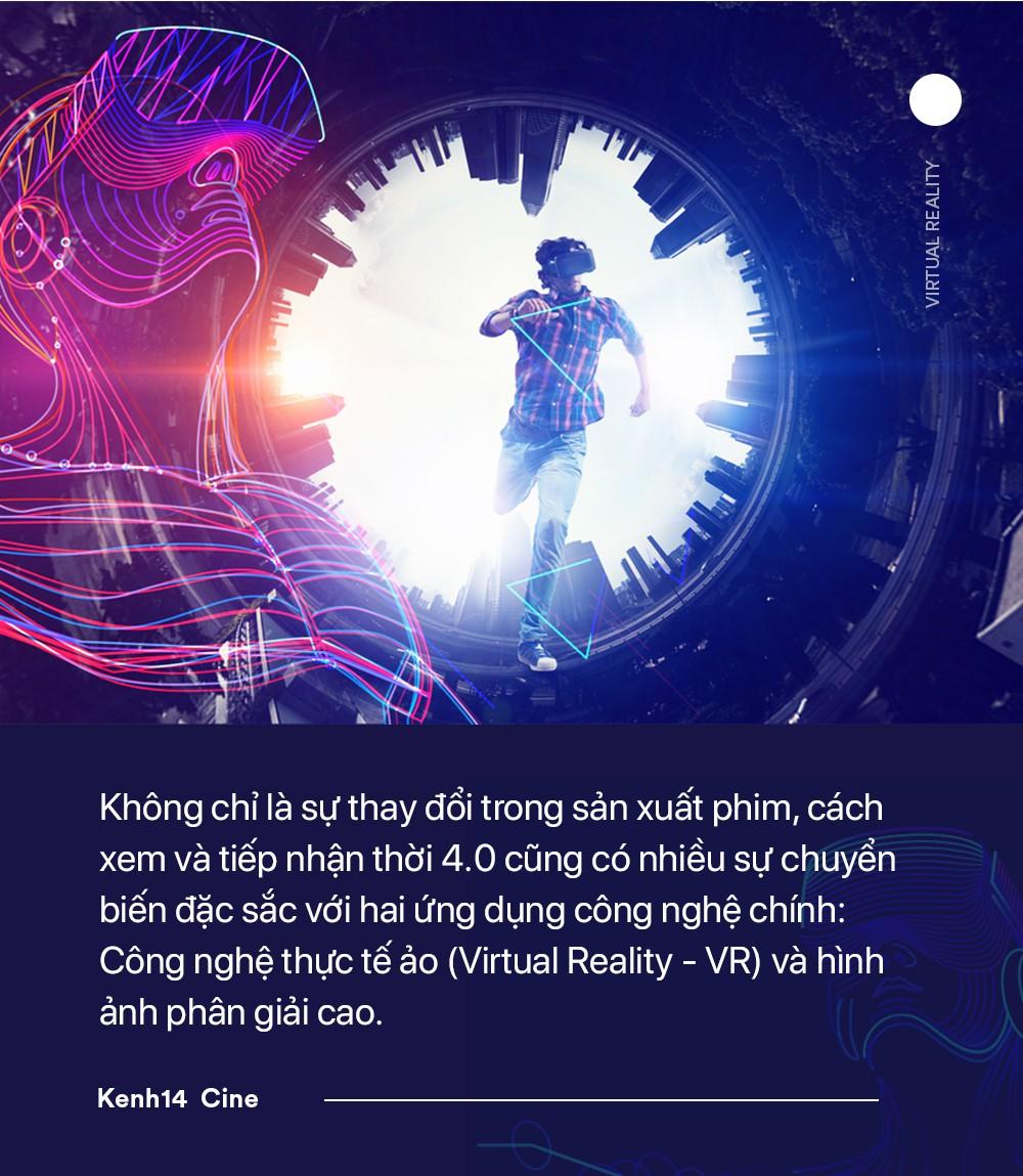 Điện ảnh thời 4.0: Cuộc chuyển mình của công nghệ mang đến cho người xem phim những gì? - Ảnh 5.