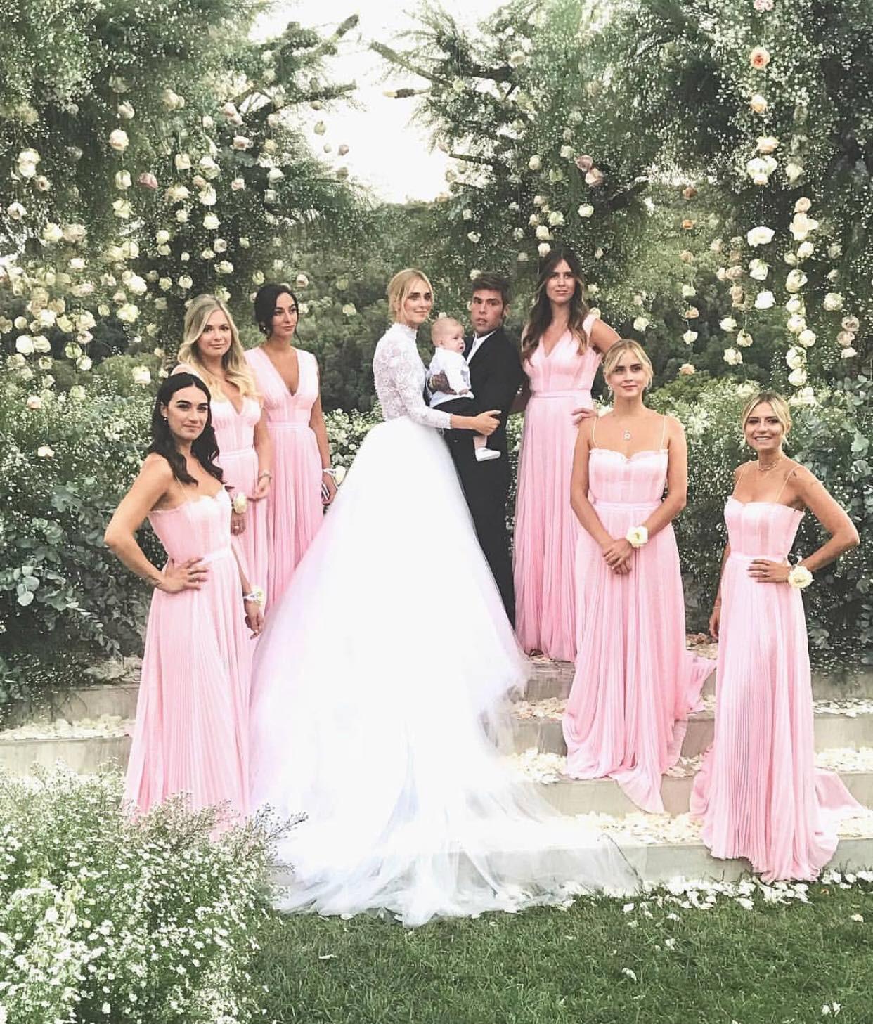 Đám cưới của blogger Chiara Ferragni chính thức diễn ra, khung cảnh lộng lẫy như giấc mơ của mọi cô gái - Ảnh 4.