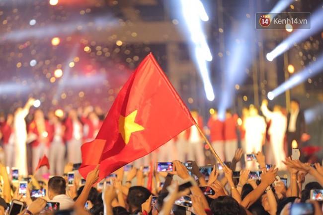 Nhiều khoảnh khắc ấn tượng trong lễ vinh danh đoàn thể thao Việt Nam trở về từ ASIAD 2018 13