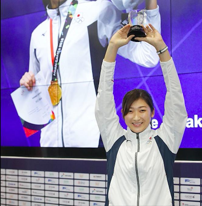 Hot girl bơi Nhật Bản giành giải VĐV hay nhất ASIAD 2018 nhờ kỷ lục vô tiền khoáng hậu - Ảnh 6.