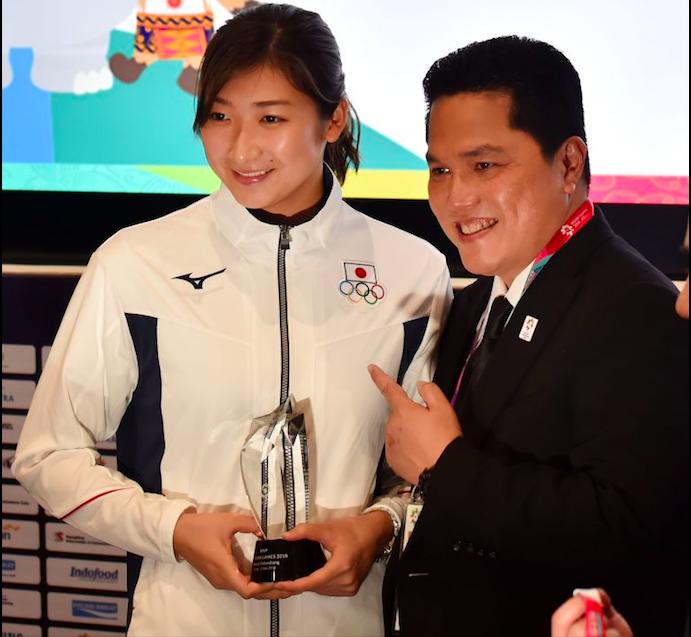 Hot girl bơi Nhật Bản giành giải VĐV hay nhất ASIAD 2018 nhờ kỷ lục vô tiền khoáng hậu - Ảnh 3.