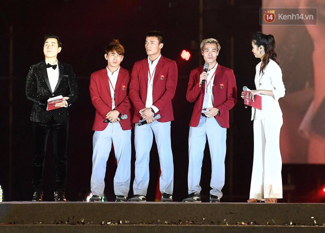Nhiều khoảnh khắc ấn tượng trong lễ vinh danh đoàn thể thao Việt Nam trở về từ ASIAD 2018 6