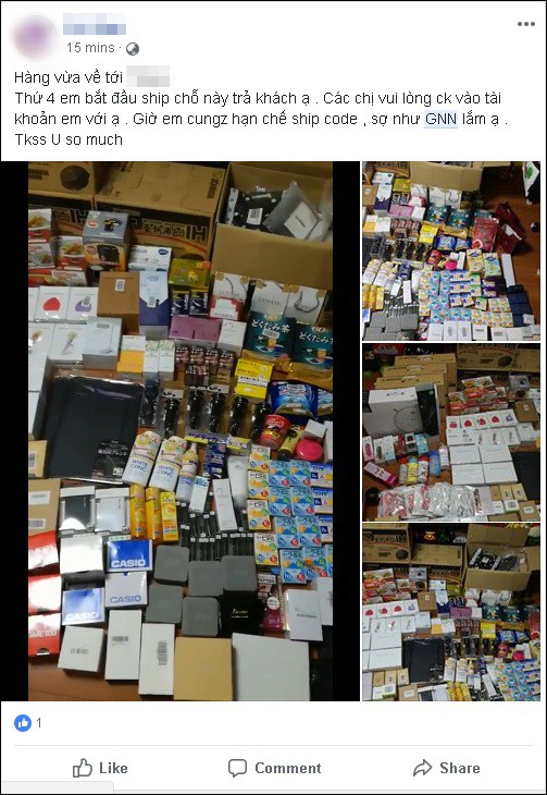 A series of online stores feared for lost money, goods were sealed when the GNN deliverer went bankrupt - Photo 5.