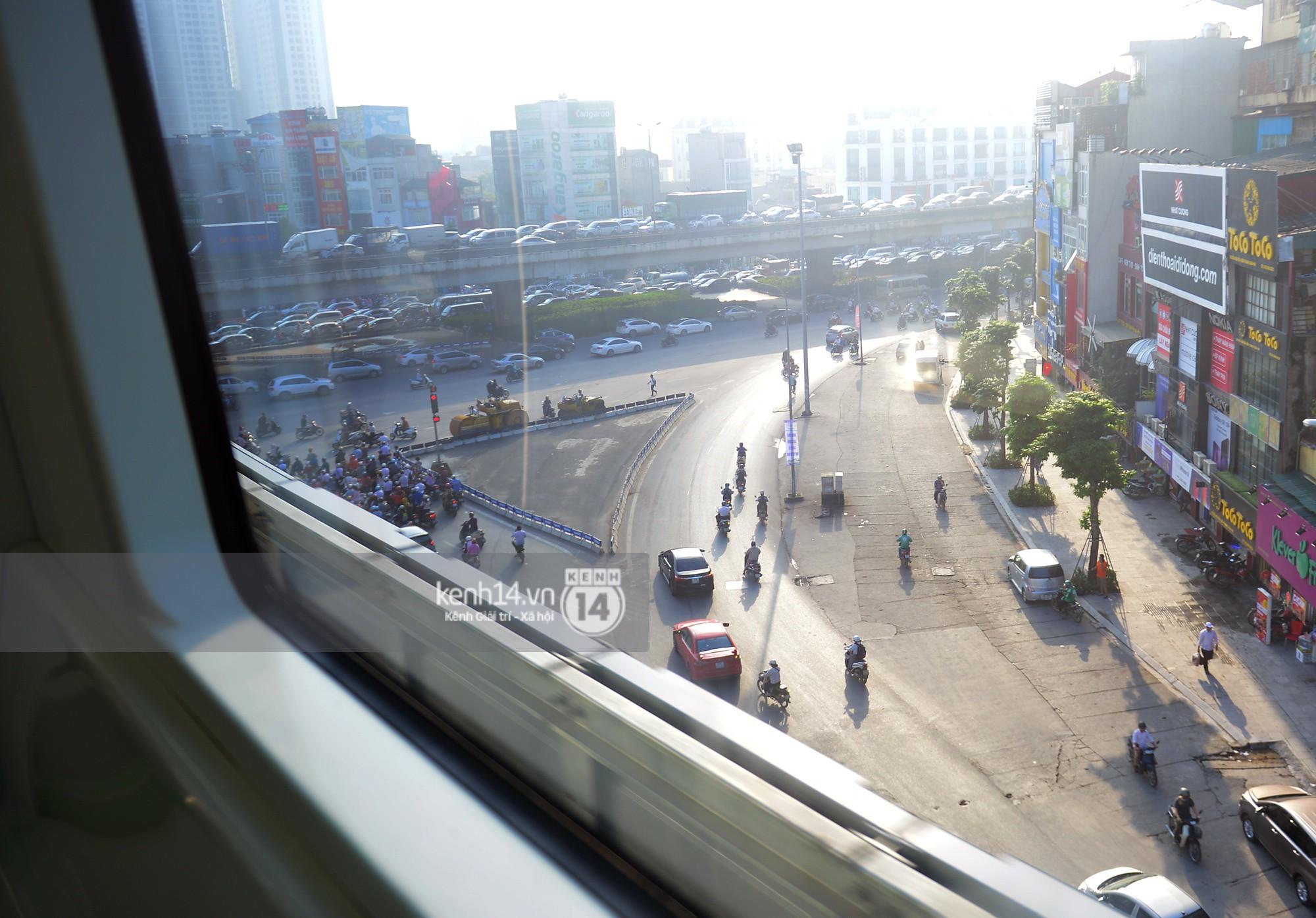 Trải nghiệm tàu đường sắt trên cao Cát Linh - Hà Đông ngày chạy thử - Ảnh 15.