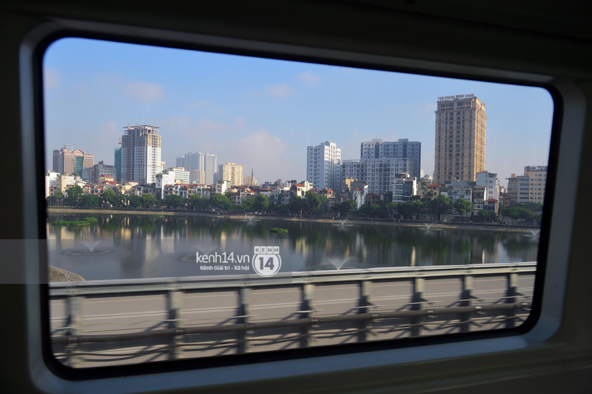 Trải nghiệm tàu đường sắt trên cao Cát Linh - Hà Đông ngày chạy thử - Ảnh 16.