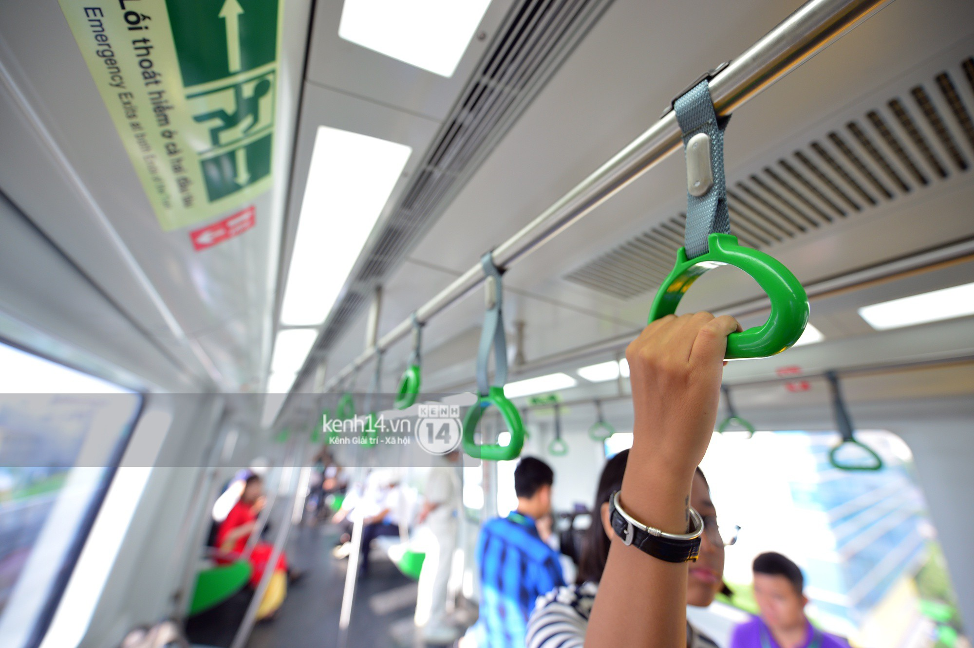 Trải nghiệm tàu đường sắt trên cao Cát Linh - Hà Đông ngày chạy thử - Ảnh 10.