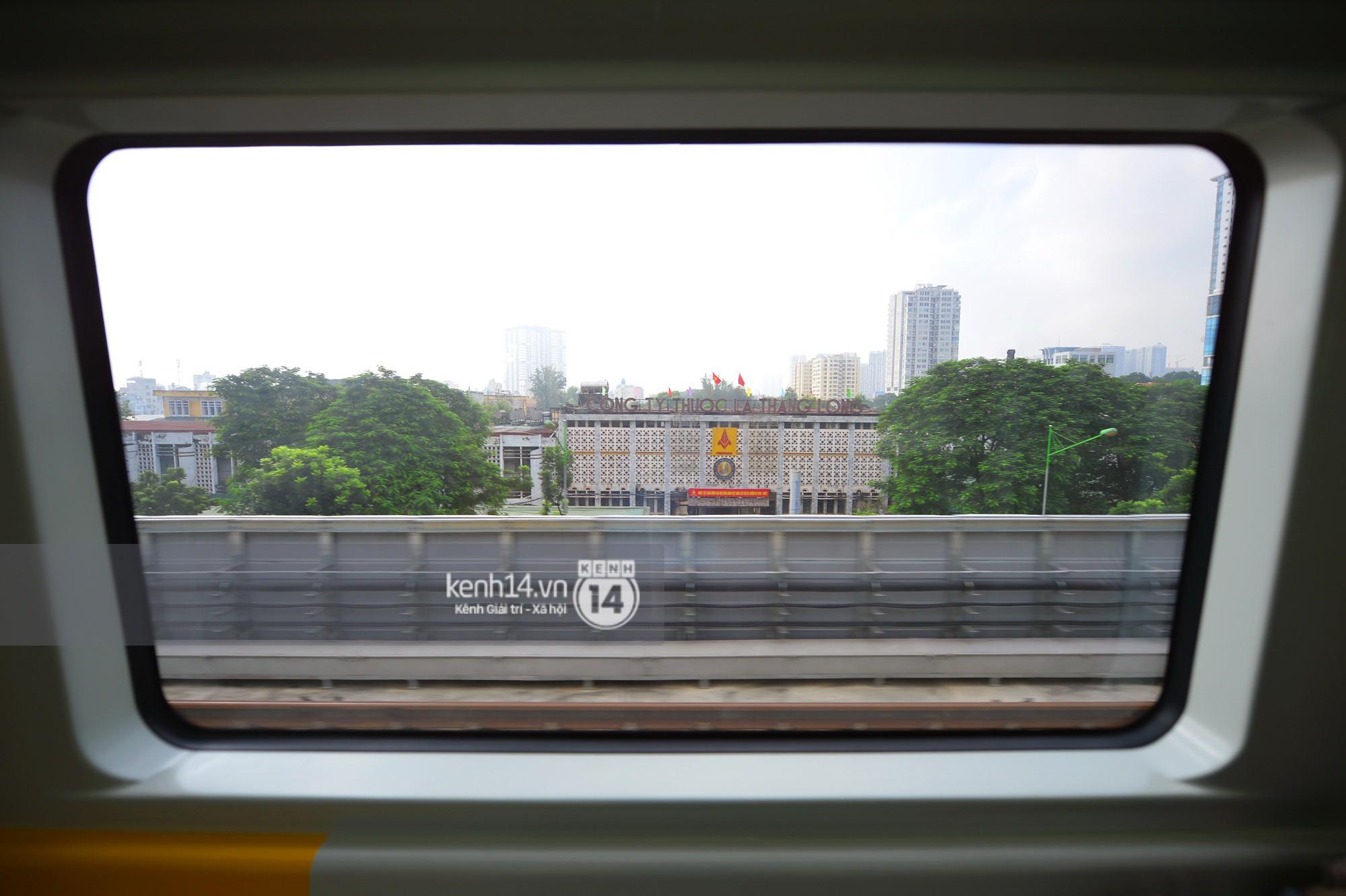 Trải nghiệm tàu đường sắt trên cao Cát Linh - Hà Đông ngày chạy thử - Ảnh 17.