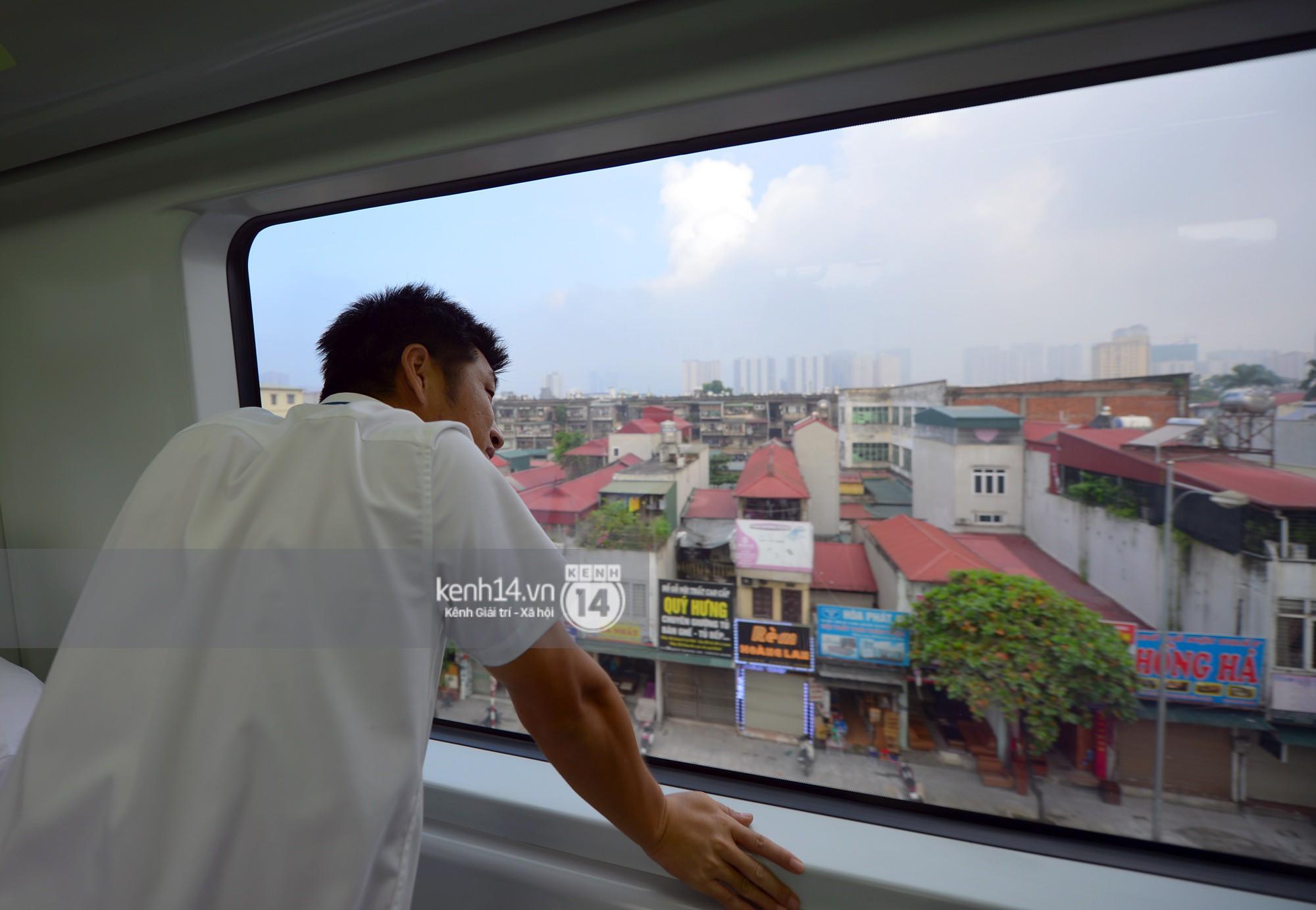 Trải nghiệm tàu đường sắt trên cao Cát Linh - Hà Đông ngày chạy thử - Ảnh 19.
