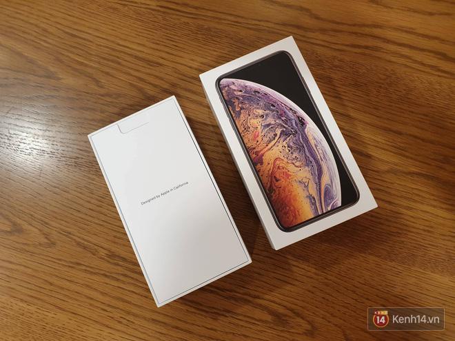 Cận cảnh iPhone XS Max 256GB Gold tuồn ra trước giờ bán, giá khởi điểm 33,9 triệu đồng, sẵn sàng xách về Việt Nam ngay đêm nay - Ảnh 3.