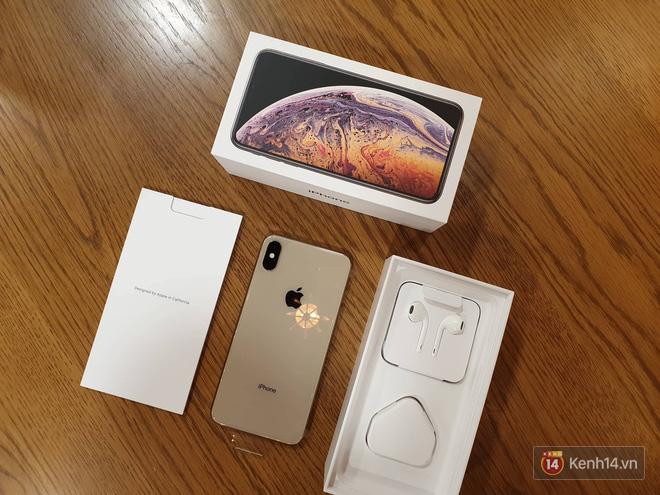 Cận cảnh iPhone XS Max 256GB Gold tuồn ra trước giờ bán, giá khởi điểm 33,9 triệu đồng, sẵn sàng xách về Việt Nam ngay đêm nay - Ảnh 5.