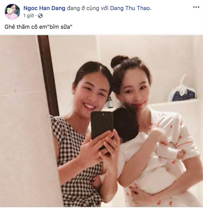 Hot: Lần đầu lộ ảnh cận mặt con gái cực đáng yêu của Hoa hậu Đặng Thu Thảo - Ảnh 3.