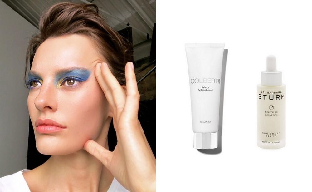 Nhờ những sản phẩm này mà ngay cả khi makeup liên tục, các người mẫu vẫn có làn da đẹp đáng ghen tị - Ảnh 5.