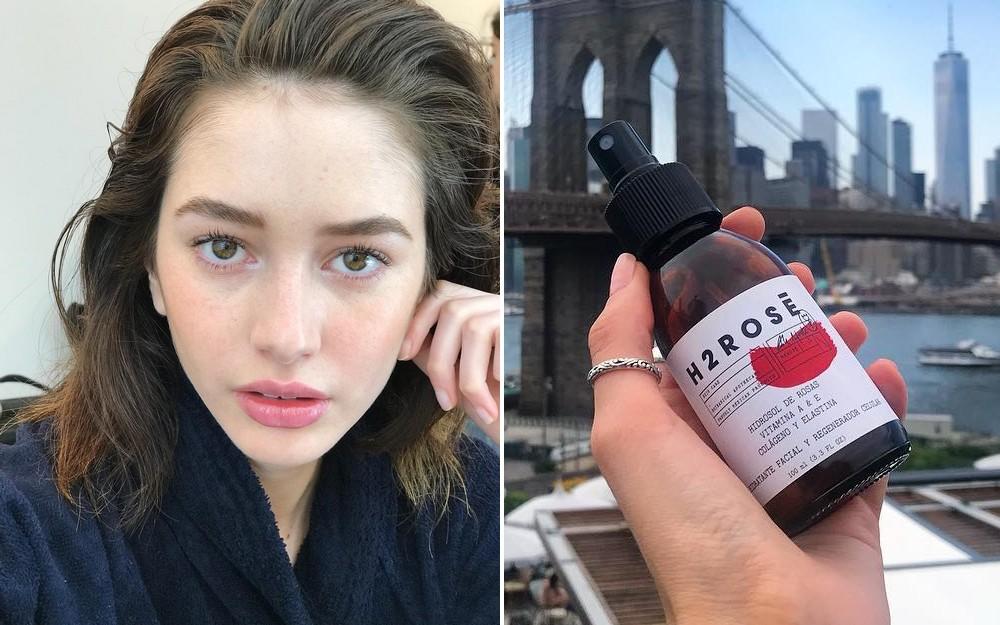 Nhờ những sản phẩm này mà ngay cả khi makeup liên tục, các người mẫu vẫn có làn da đẹp đáng ghen tị - Ảnh 1.